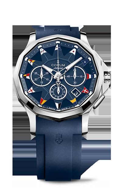 Admiral 42 Chronograph Watch - A984/03156 - 984.101.20/F373 AB12