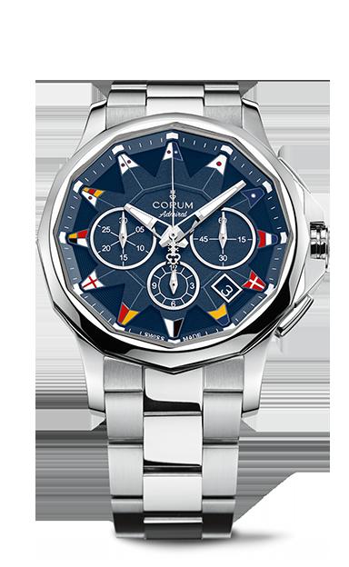 Admiral 42 Chronograph Watch - A984/03445 - 984.101.20/V705 AB12
