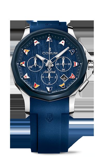 Admiral 42 Chronograph Watch - A984/03597 - 984.113.22/F373 WB12