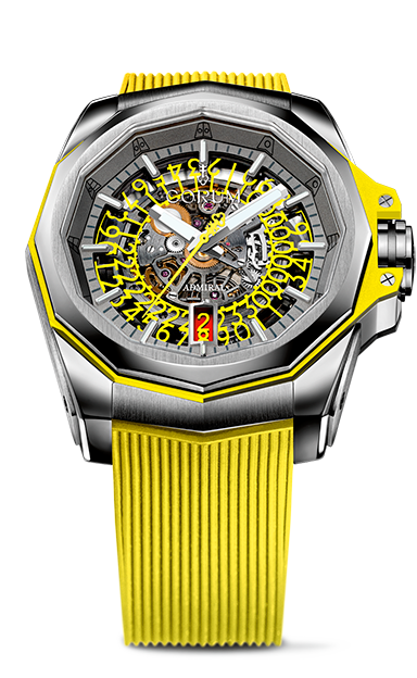 Admiral 45 Skeleton Watch - A082/03704 - 082.401.04/F375 FH54