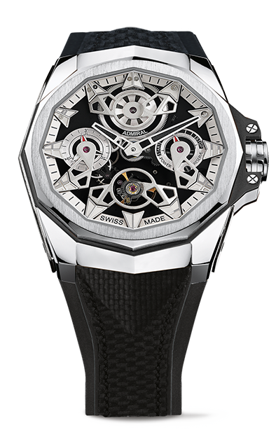 Admiral 45 Automatic Openworked Watch - A297/03897 - 297.100.04/F249 FH10