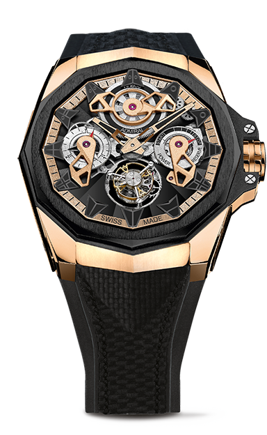 Admiral 45 Tourbillon Openworked  Watch - A298/03901 - 298.100.86/F249 AD10