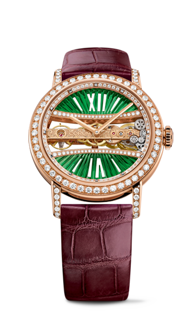 Golden Bridge 39 Rose Gold Diamonds Watch - B113/03168 - 113.000.85/0F90 DV91R