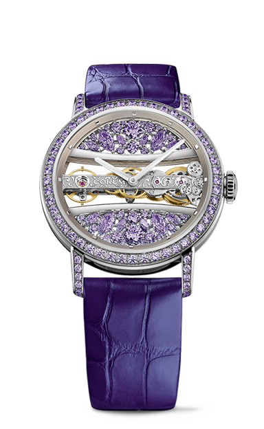 Golden Bridge 39 White Gold Full Diamonds Watch - B113/03677 - 113.090.69/0F90 DP99G