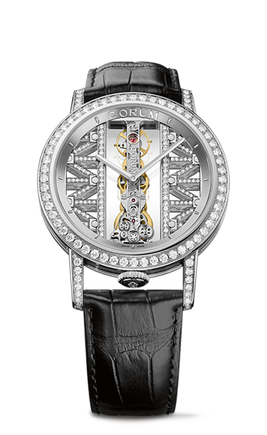 Golden Bridge 43 White Gold Diamonds Watch - B113/03043 - 113.901.69/0F01 GG69G