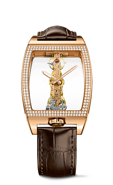 Golden Bridge Classic Rose Gold Diamonds Watch - B113/01045 - 113.161.85/0002 0000