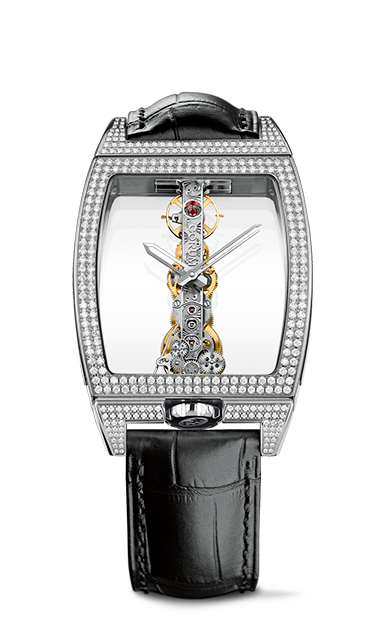 Golden Bridge Classic White Gold Diamonds Watch - B113/03198 - 113.162.69/0F01 0000