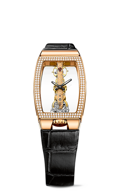 Golden Bridge Miss Rose Gold Diamonds Watch - B113/03847 - 113.222.85/0001 0000