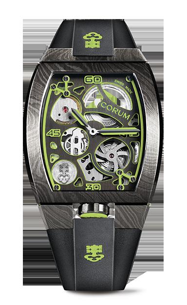 LAB 01 Damascus Steel Watch - Z410/03954 - 410.100.43/F371 AV01