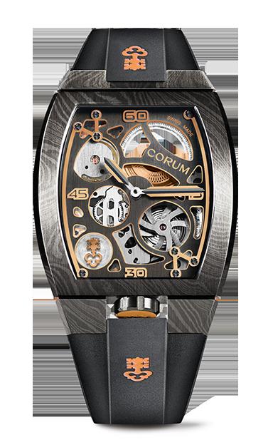 LAB 01 Damascus Steel Watch - Z410/03955 - 410.100.43/F371 AD01