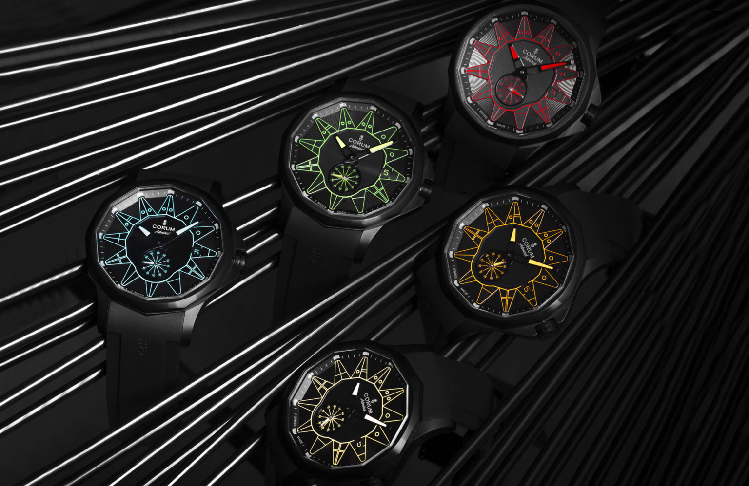The Corum Admiral 42 Automatic Gets a Colorful Twist