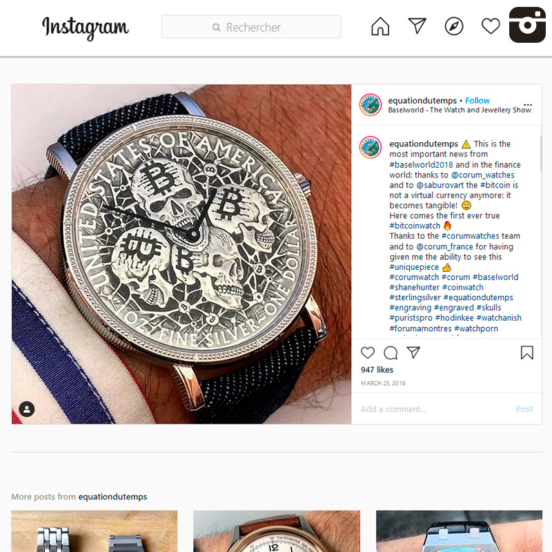 Watch : Heritage, Coin ( Baselworld… )