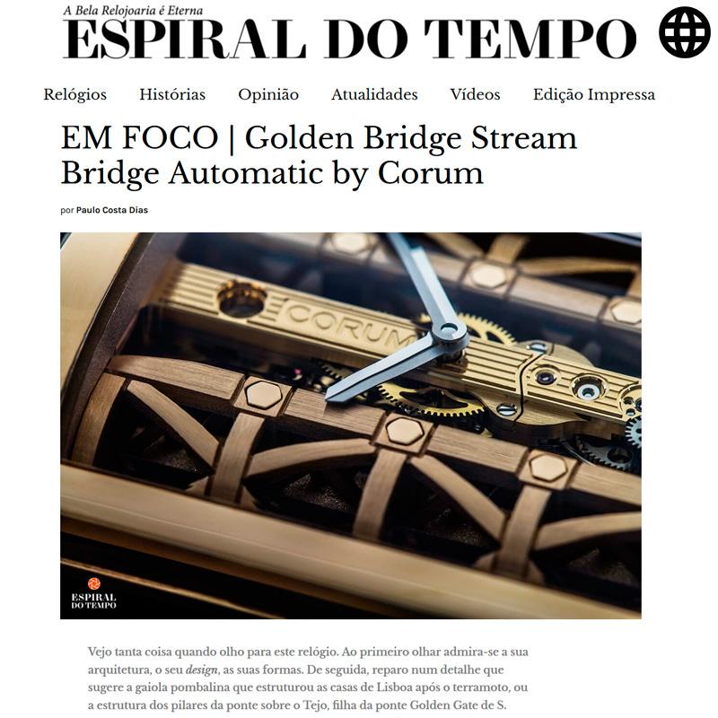 Watch : Golden Bridge, Stream ( Em Foco Golden Bridge Stream Bridge Automatic By Corum )