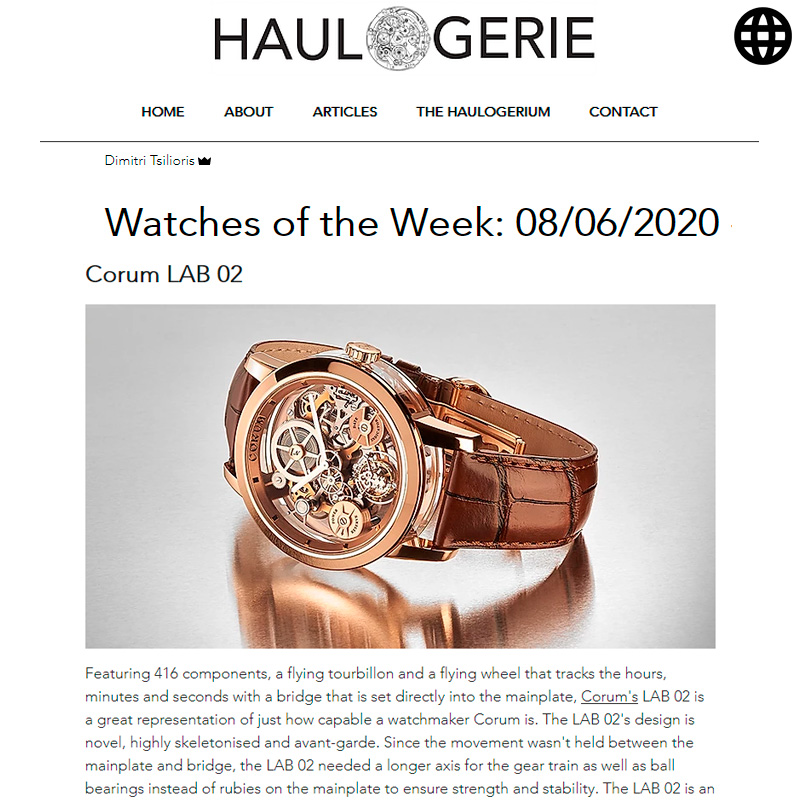 Watch : Lab, 02 ( Watches Of… )
